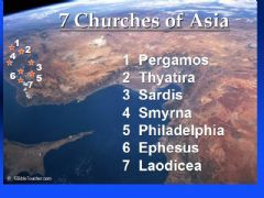 3  Days  Tour - Seven Churches  of  Revelation